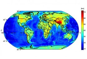 Moho Discontinuity Map:The first global high-resolution map of the boundary between Earth's crust and mantle – the Moho – has been produced based on data from ESA's GOCE gravity satellite. Understanding the Moho will offer new clues into the dynamics of Earth's interior.