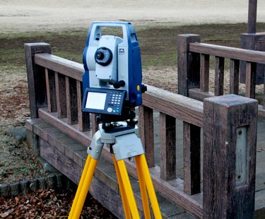 Sokkia's DX-105AC+, a robotic total station. (Photo from Sokkia