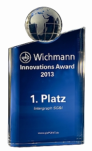 2013 Innovation Award founded by Wichmann VDE publishing house, Germany Copyright: Wichmann VDE Verlag