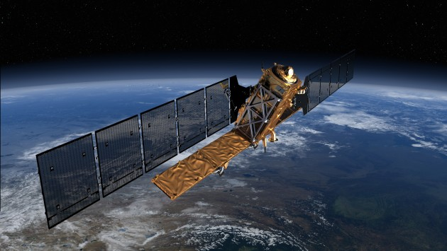 Sentinel-1, the first Earth observation satellite to be built for Europe's Global Monitoring for Environment and Security 'Copernicus' programme. © ESA/ATG Medialab.