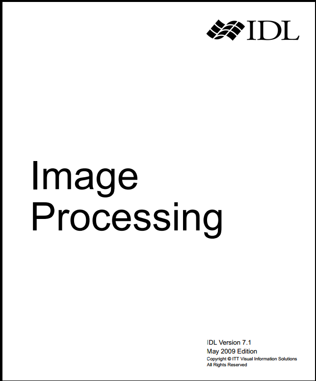 research paper on satellite image processing