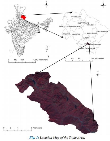 Geospatial Analysis of Biomass in Lake Region of Kumaun Himalaya, Uttarakhand