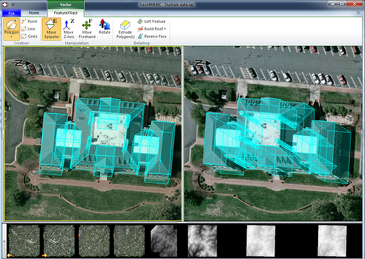 Example -3D FeatureXtract (3DFE)  Credit: PCI Geomatics