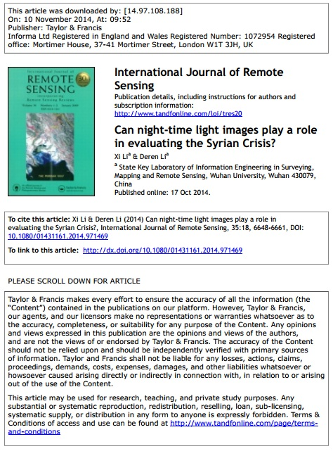 Can night-time light images play a role