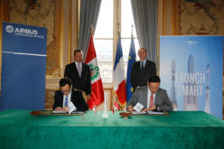 PR: Airbus Defence and Space Selects Arianespace to Launch Perusat-1