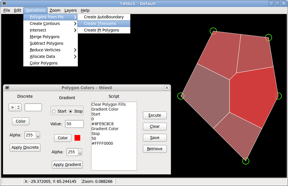 Vector based Spatial Analysis