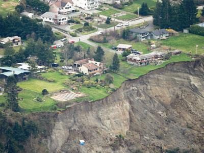 Washington Landslide  Credit: USAToday