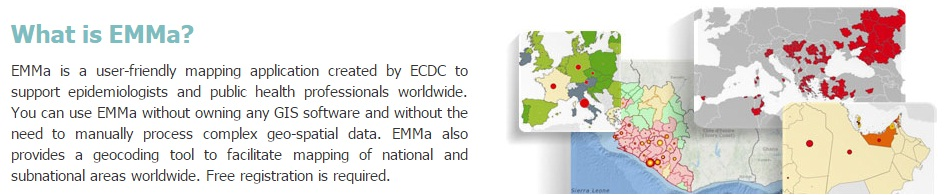 Emma disease mapping tool