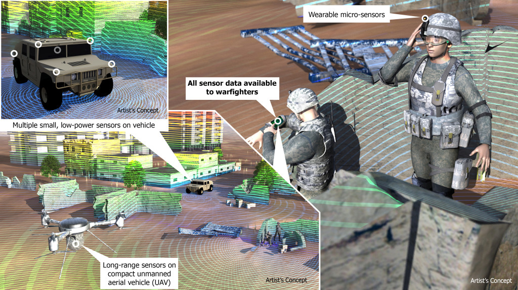 SWEEPER Concept Image Credit: DARPA