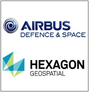 airbus defence and space and hexagon geospatial
