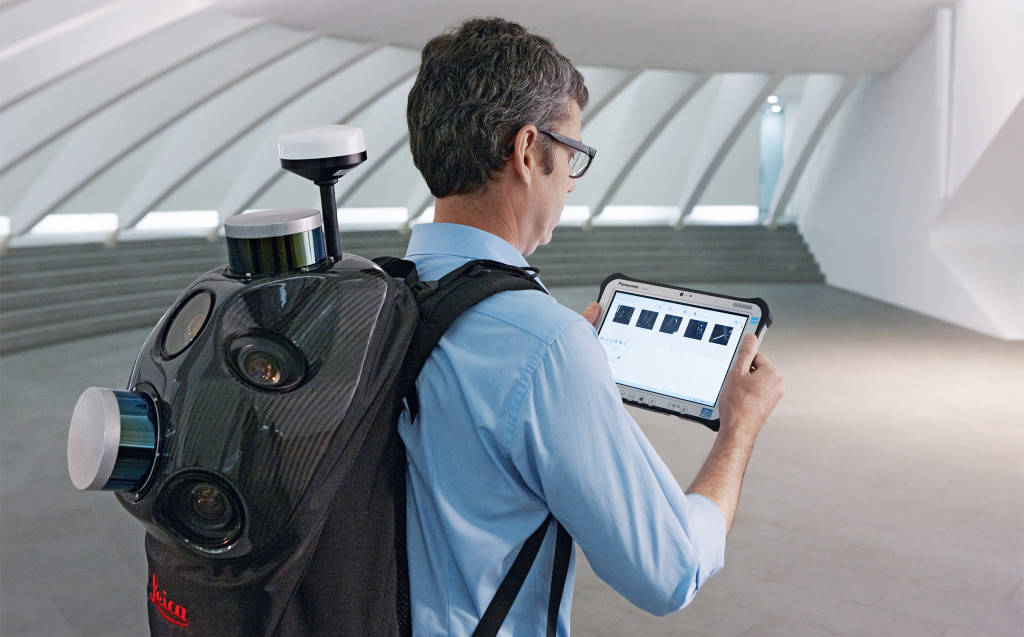 The Leica Pegasus:Backpack creates a 3D view indoors or outdoors for engineering or professional documentation creation at the highest level of authority yet.