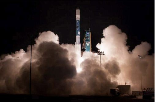 The SMAP observatory launched aboard a Delta II vehicle from Vandenberg Air Force Base at 6:22 AM Pacific Standard Time on 31 January 2015.