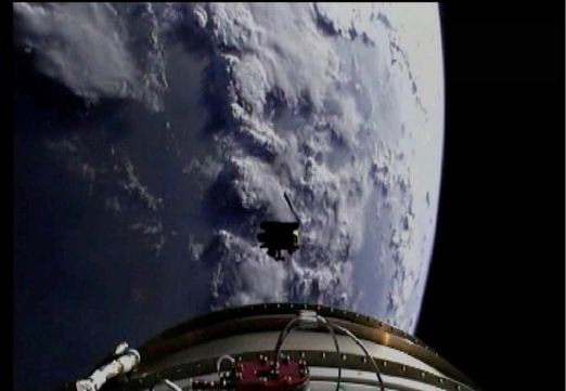 The SMAP observatory separated from the upper stage 57 minutes after liftoff, and solar arrays opened one minute after separation.