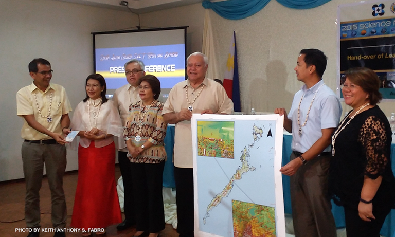 The topographic maps will be used in flood modeling of disaster-risk prone areas in Palawan, said Dr. Enrico C. Paringit, program leader of the University of the Philippines' (UP) DREAM program. Credit: CNN Philippines