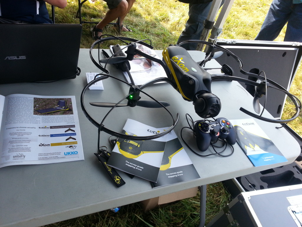 senseFly's eXom The intelligent mapping & inspection drone