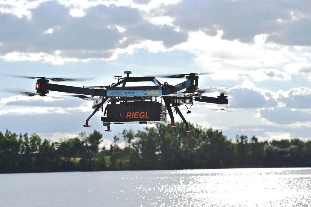 World's first Small-UAV-based surveying system for hydrographic applications: the RIEGL BathyCopter