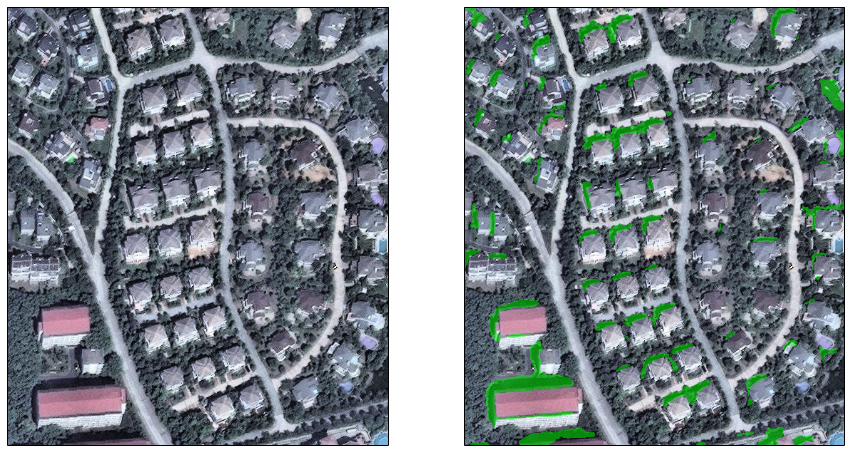 The above image depicts how Orbital Insight is detecting building shadows in Nanjing, China to monitor construction rates in the area.