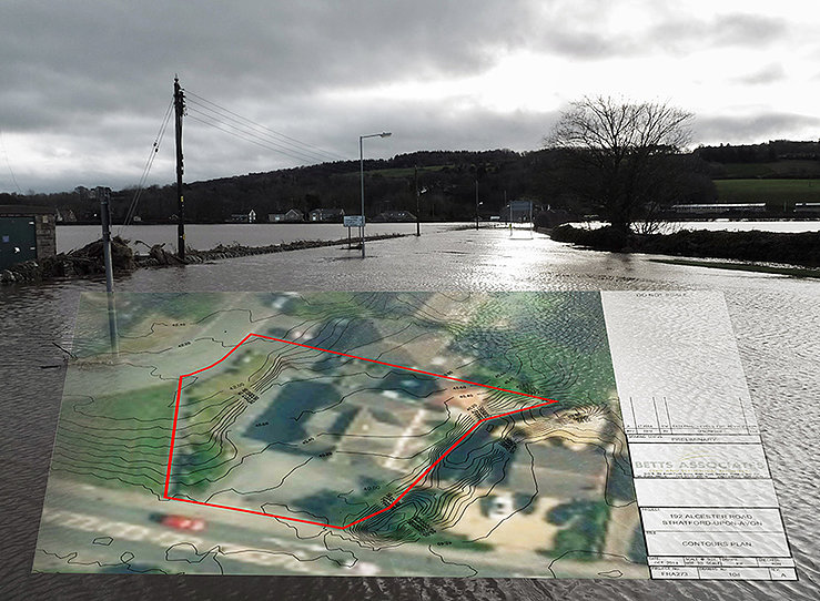 Maps Inform Flood Risk Assessments
