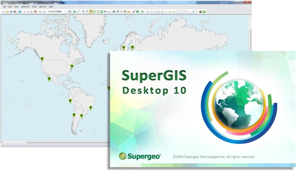 SuperGIS Desktop 10