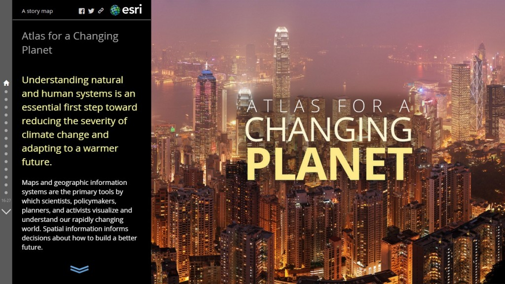atlas for a changing planet