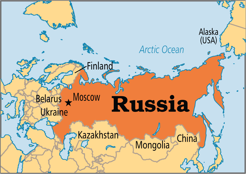 russia map - GIS Resources