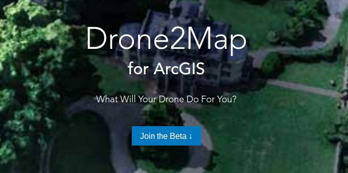 Drone2Map of ArcGIS