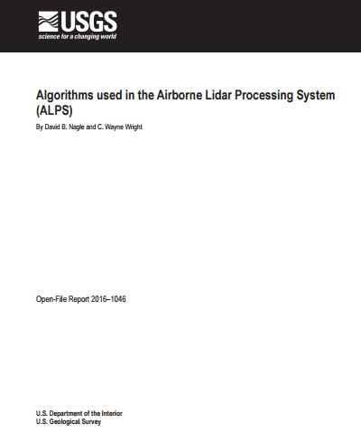 Algorithms used in the Airborne Lidar Processing System_2