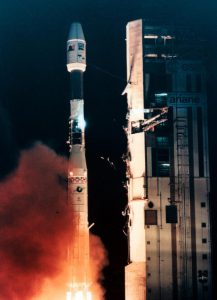 Launch of ERS-1 Earth observation satellite
