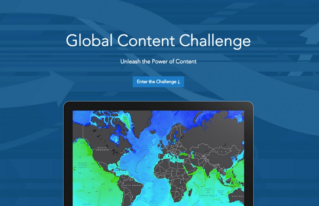 Esri's Global Content Challenge is open to undergraduate or graduate students at colleges or universities and to high school students enrolled in an advanced-placement human geography or environmental science course.