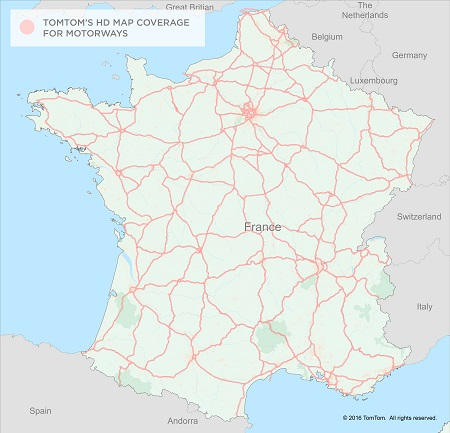 Extending self-driving car testing to now include 33K of motorways in France