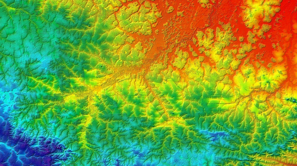 Rainforest Clearing, Bolivia-TerraSAR-X and TanDEM-X