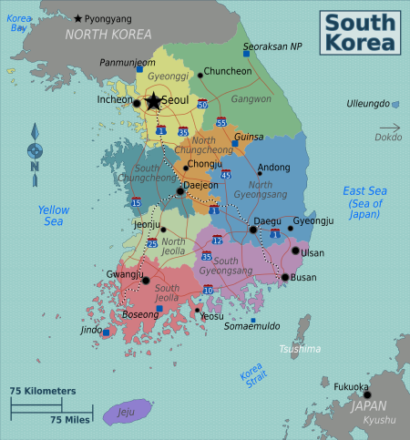 South Korea Refuses Google To Use Official Mapping Data Gis