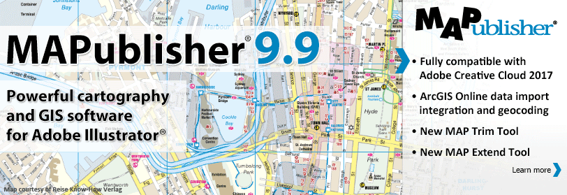 Avenza releases mapublisher 99 for adobe illustrator gis resources publicscrutiny Images