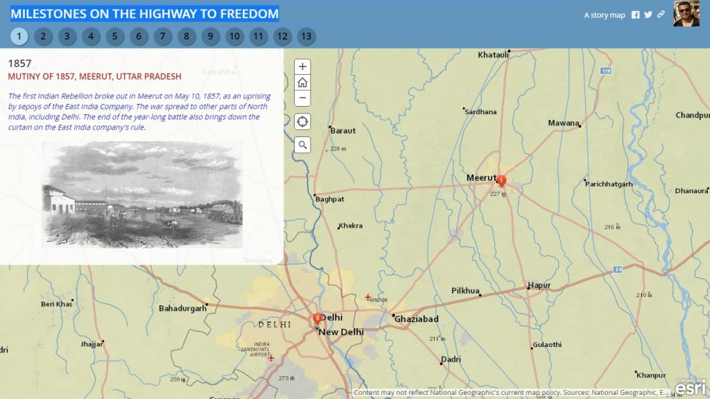 Milestone in Indian Freedom Movements-milestones-on-the-highway-to-freedom-Milestone of Indian Freedom Movements