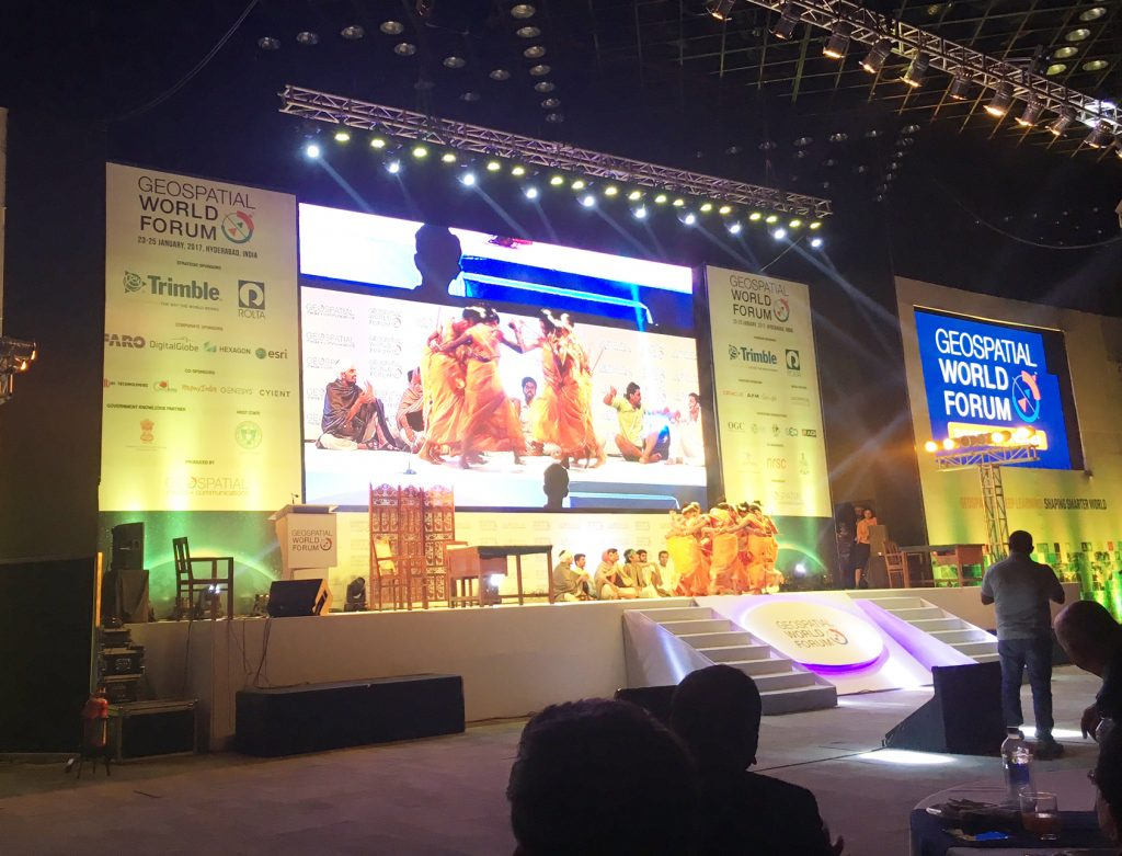 Spectacular Opening at the Geospatial World Gala Dinner and Awards Ceremony Night