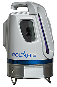 The Teledyne Optech to showcase its newest and most advanced TLS at SPAR 3D March 22, 2017 — Teledyne Optech is pleased to announce the release of its Polaris Terrestrial Laser Scanner at the SPAR 3D Conference and Expo, April 3-5, in Houston, Texas. This versatile, productive and user-friendly scanner will be on display in booth #400 along with the Optech Maverick, Eclipse, and award-winning Galaxy. Bridging the gap between indoor and outdoor scanners, the Polaris can survey targets up to 1600 m away in long-range mode or collect up to 500,000 measurements per second in short-range mode. Its 360°×120° field of view (FOV) captures indoor panoramas from a single site, while its rugged design, light weight, and swappable batteries let it travel deep into the field. The Polaris automatically detects its location with a built-in GNSS receiver and selects the planned survey parameters for the site — even untrained operators can execute a survey. Alternatively, operators can set up surveys in the field and resection/backsight the system using the menu-driven GUI on its touchscreen. Visitors to SPAR 3D will be able to see the Polaris' streamlined user interface in action. In other exciting news, the Galaxy airborne lidar just won the MAPPS Grand Award for Innovation, and Teledyne Optech staff will be on hand to explain the SwathTRAK™ technology that earned it the prize. By dynamically adjusting the Galaxy's scanner FOV in response to changes in the ground's elevation, SwathTRAK keeps the swath width and point density on the ground consistent, even in hilly terrain. This technology saves clients time and money by reducing the number of flightlines required and ensuring homogeneous point density. Finally, visitors to the Teledyne Optech booth can also get hands-on time with the Maverick, our first backpack-mountable mobile mapping system, or see the autonomous Eclipse airborne data collection system and learn how a pilot can operate it alone, saving the cost of a dedicated o