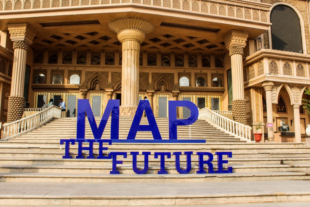 Digital Map Twin of Real World