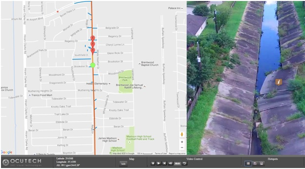 Georeferenced Video