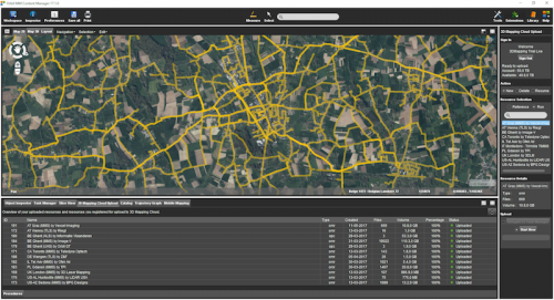 Mobile Mapping -Orbit GT Releases Mobile Mapping Content Manager v17.1