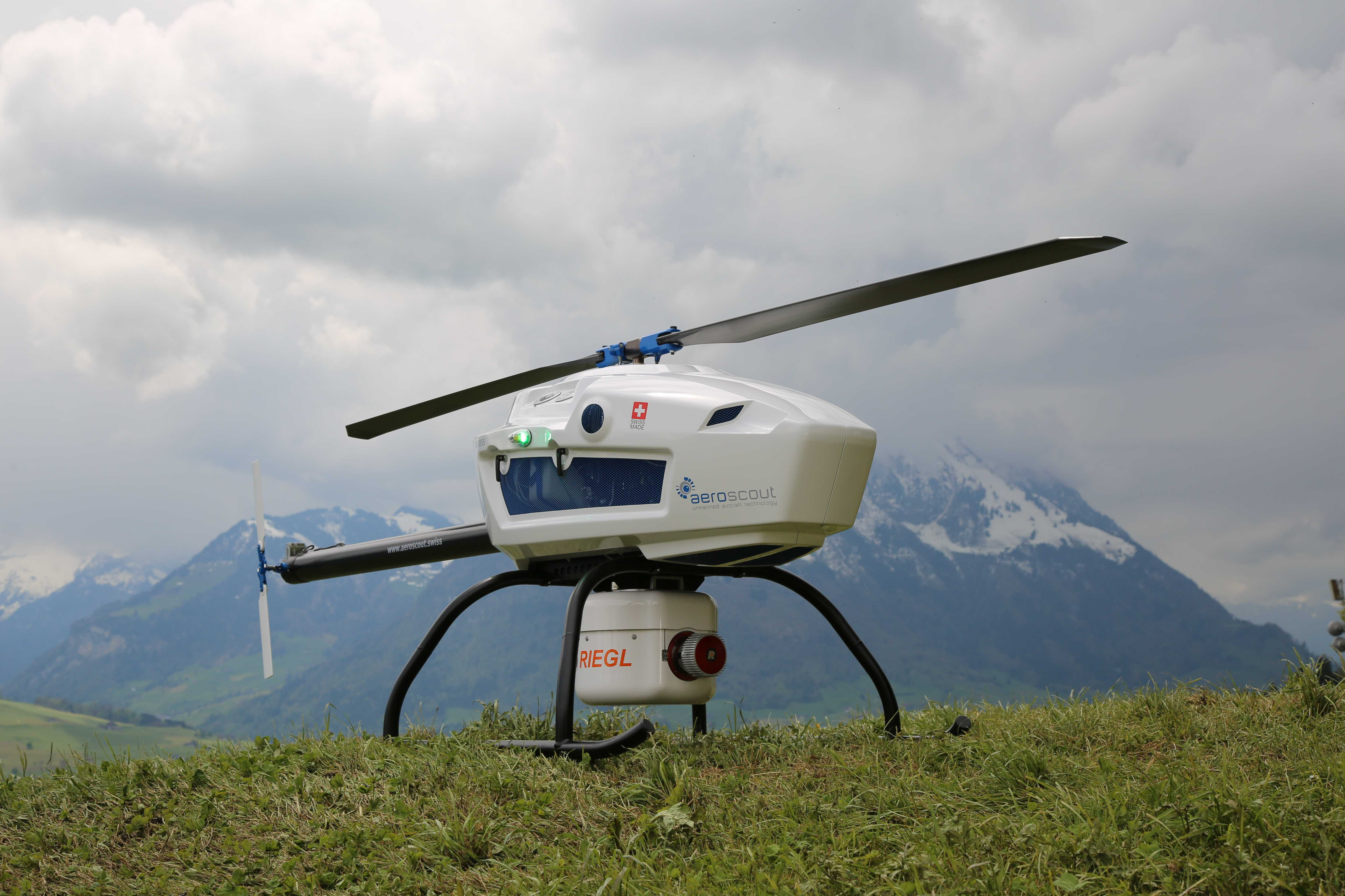 Swiss Based Uav Pioneer Aeroscout Introduced Their New
