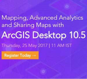 mapping and advanced analytics using arcgis desktop 10.5