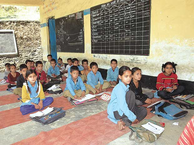 Uttar Pradesh New Government Schools Only After Gis