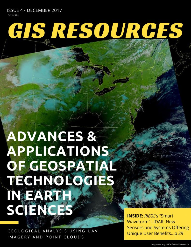 4th Edition of GIS Resources Magazine: Advances & Applications of Geospatial Technologies in Earth Sciences-Free-GIS-Magazine