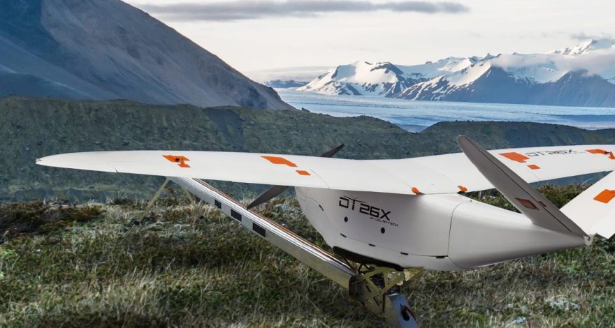 Delair DT26X LiDAR drone - Lidar-Based Aerial Surveying and 3d Mapping