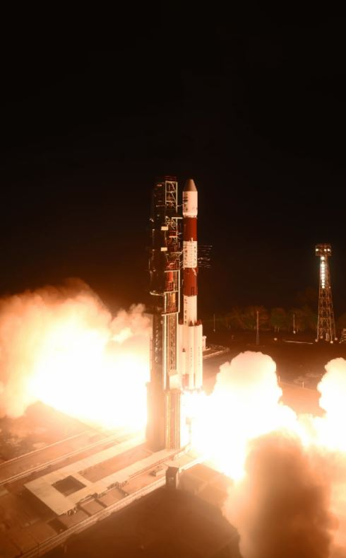 Pslv C41 Successfully Launches Irnss 1i Navigation