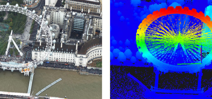 Bluesky uses Leica CityMapper to capture major UK cities in 3D