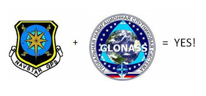 GLONASS + GPS = Many Advantages
