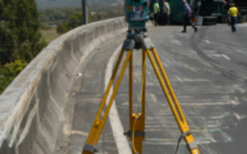 Crash Investigators are using Total Station and 3-D Imaging