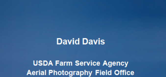 PPT-Aerial Imagery By David Davis,  USDA Farm Service Agency, Aerial Photography Field Office