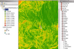 Analysis of Digital Elevation Model in ArcMAP